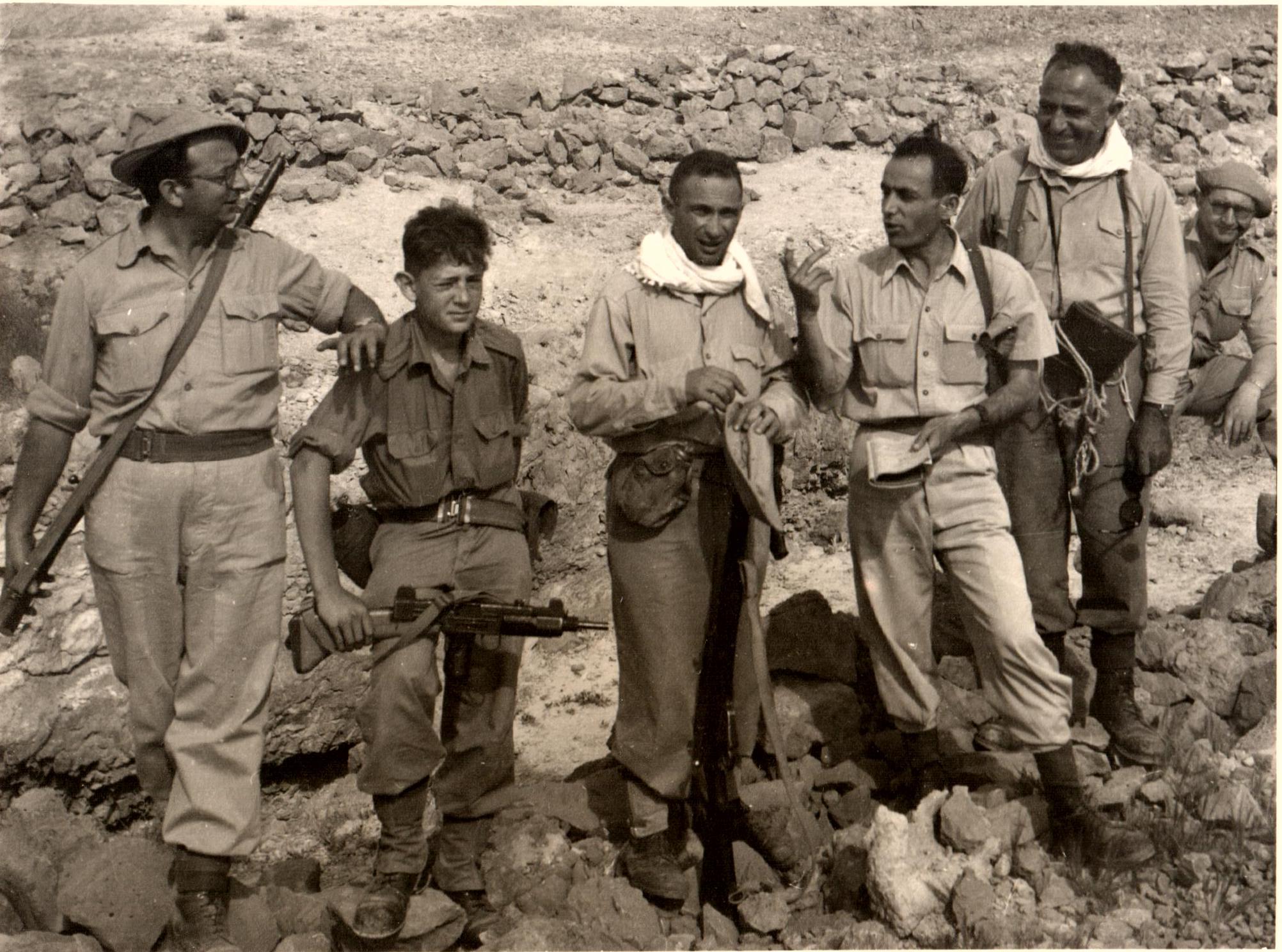1946  Comandante del Servicio de Información de la Haganah