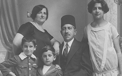 1921 Infancia y familia