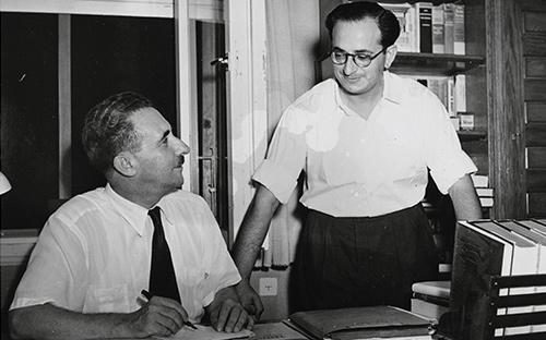 1951 | מזכיר מדיני – שרת