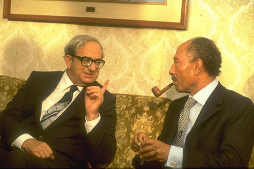 1979 | נשיא המדינה – הסכם השלום עם מצרים